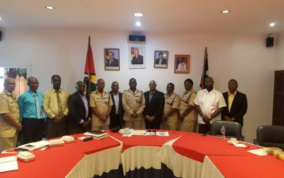 Commissioner of Police Mr. Leslie James DSS met with American Aviation giant MIDAS Aviation Service Inc.