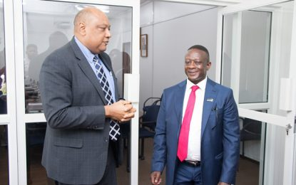 South African delegation in Guyana to explore areas of mutual interests