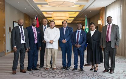 Minister of Natural Resources and Deputy Minister of Mineral Resources South Africa strengthen country relations