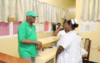 Lindeners urged to utilise facilities at Wismar Hospital – Min. Harmon