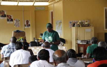 Minister Henry engages Nappi Residents