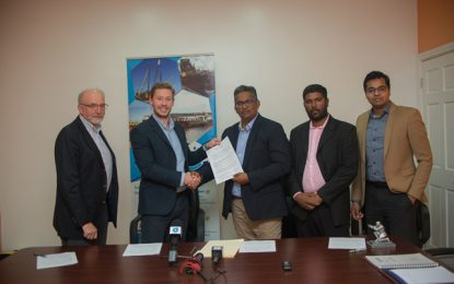 Deal inked for oil spill response readiness