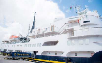 MS Serenissima's wraps up visit to Guyana