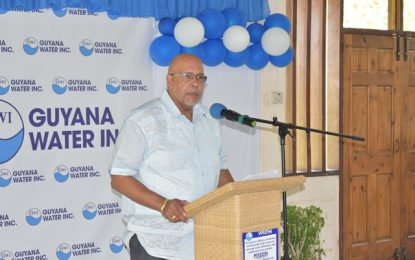 Some 75,000 Guyanese gained potable water access within last 3 years