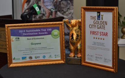 Local tourism stakeholders celebrate Eco-Tourism award
