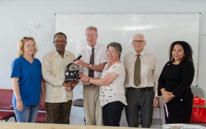 University of Guyana receives gift of microscopes from University of Toronto
