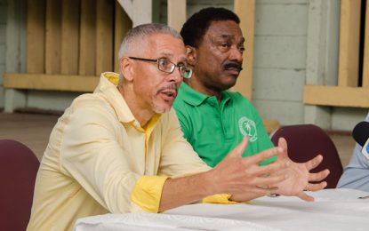 Albouystown/Charlestown reiterate confidence in govt