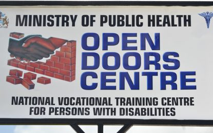 Beauty care and barbering skills training for persons with disabilities