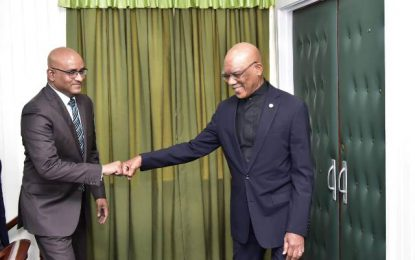 UPDATE: Pres. Granger and opposition leader in closed door meeting