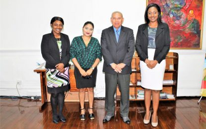 Minister Norton greenlights partnership with HEAL Guyana