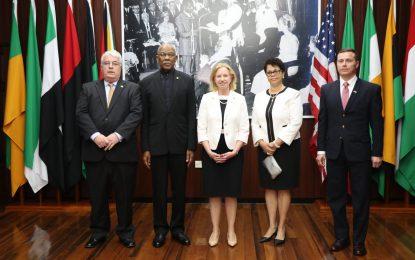 New US Ambassador supports constitutional judicial process