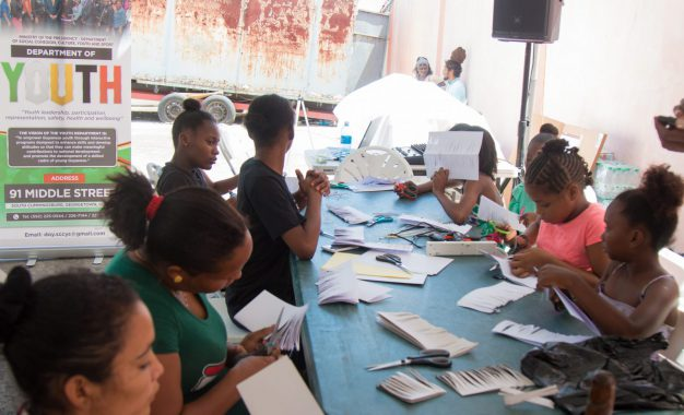 Tiger Bay youths benefit from arts and robotics camp