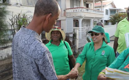 """Stay calm and carry on"" – Min. Hastings Williams tells Kitty North residents"