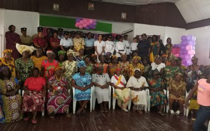 Culture, religion, cohesion highlighted as Berbicians celebrate Int'l Women's Day