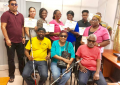 Visual impairment specialist gives back