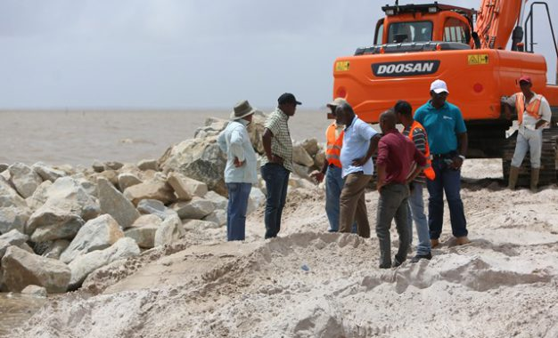 Sea Defence works on schedule