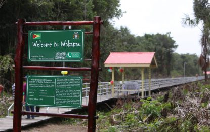 Govt lauded for new Wakapau Bridge