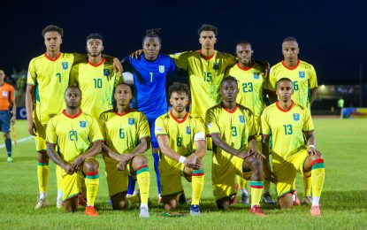 Guyana Jaguars roar into Gold Cup
