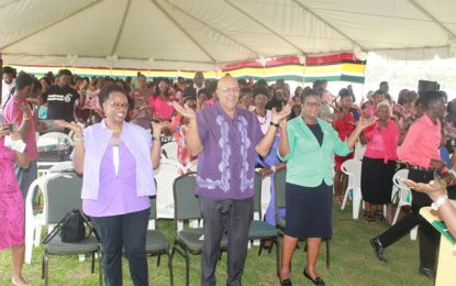 GWI observes International Women's Day in Linden