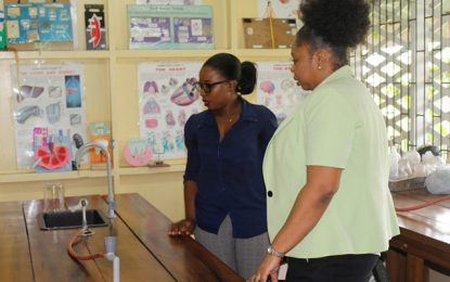 Science Laboratories being examined to improve standards and student performance
