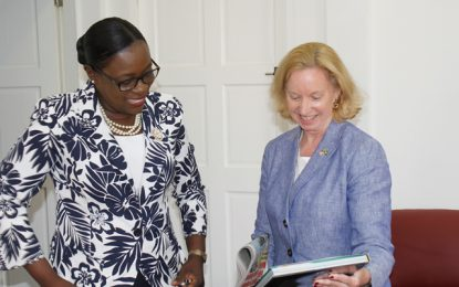 US Ambassador pays courtesy call on Minister Henry – Discusses areas for collaboration