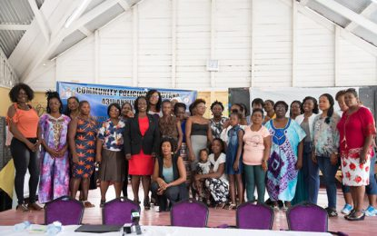 Women urged to bring balance in Communities