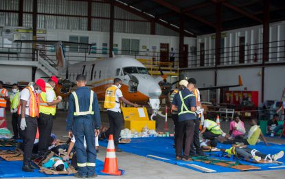 Eugene F. Correia Airport emergency-ready