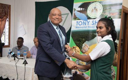 Ministry of Natural Resources Tony Shields Memorial Essay Competition 2019