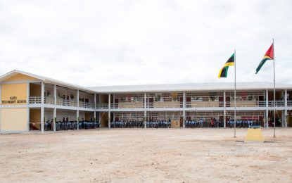 Kato Secondary School finally commissioned