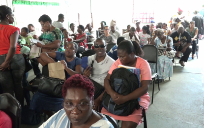 Over 150 persons with disabilities begin land application process