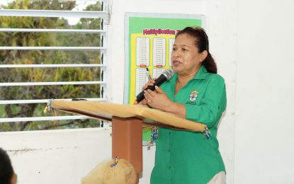 Work with your govt, hold your NDCs accountable – Min. Hastings-Williams urge Vergenoegen-New Philadelphia residents