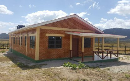 Annai Maternity Waiting Home completed