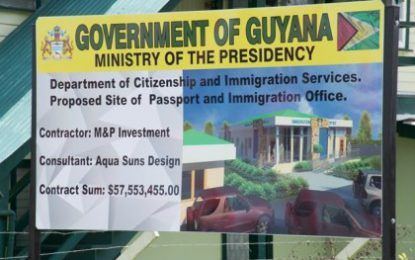 Operational Reg. 5 Passport Office by June