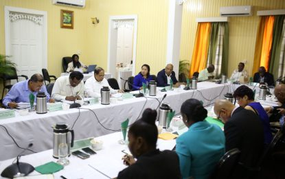 Cabinet in Session – Berbice