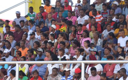 Ready to serve! Govt comes to Reg. 3 at National Track and Field Centre