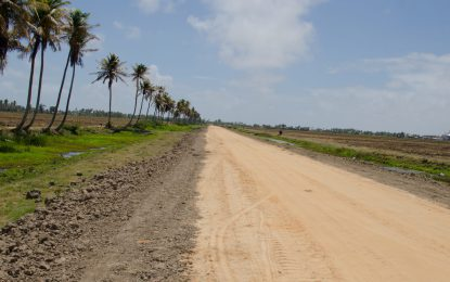 Supenaam road upgrades benefit nearly 100 farmers
