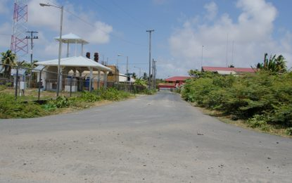 Lima road repaired, more roads on the Essequibo Coast slated for upgrade
