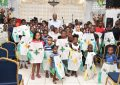 Minister Harmon takes Easter cheer to BV and Agricola children