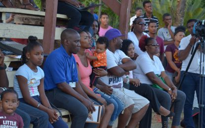 """Bigger, better things in store in second term"" – Min. Jordan tells West Watooka residents"