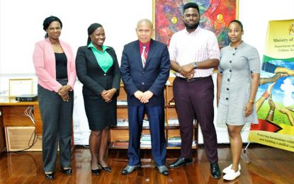 Min. Norton engages GNYC on establishment of regional youth bodies