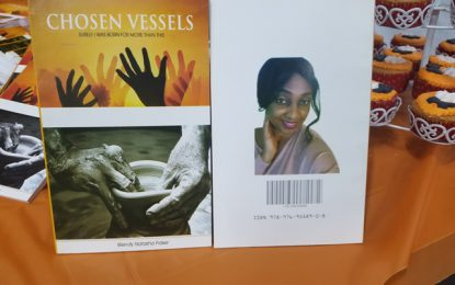 Berbician launches new book titled 'Chosen Vessels'
