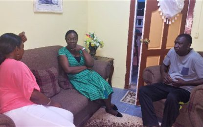 Education Minister visits the family of teacher killed in road accident
