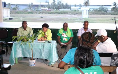 """We have more opportunities to offer Guyanese"" – Min. Ally tells De Hoop residents"