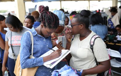 Ministry of Public Health provides job opportunities at Reg. 5 outreach