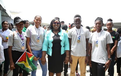 CARIFTA athletes congratulated for outstanding performances