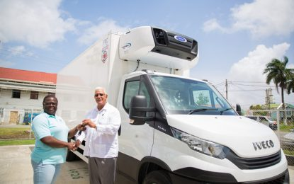 Agr. Ministry donates state-of the-art refrigeration trucks to GMC, GLDA
