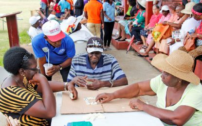 Social Protection Ministry hosts fun-day for Region six elderly