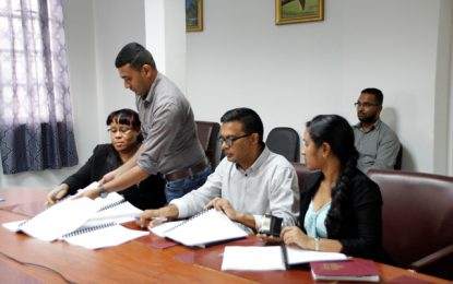 Contract signed for the design of Hospitality Training Institute