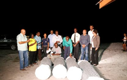 Social Protection Ministry donates sewing machines Moblissa group