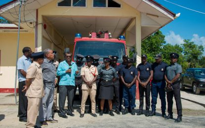 Bartica Fire Station slated for major boost
